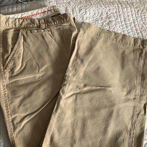 Old navy khakis tan